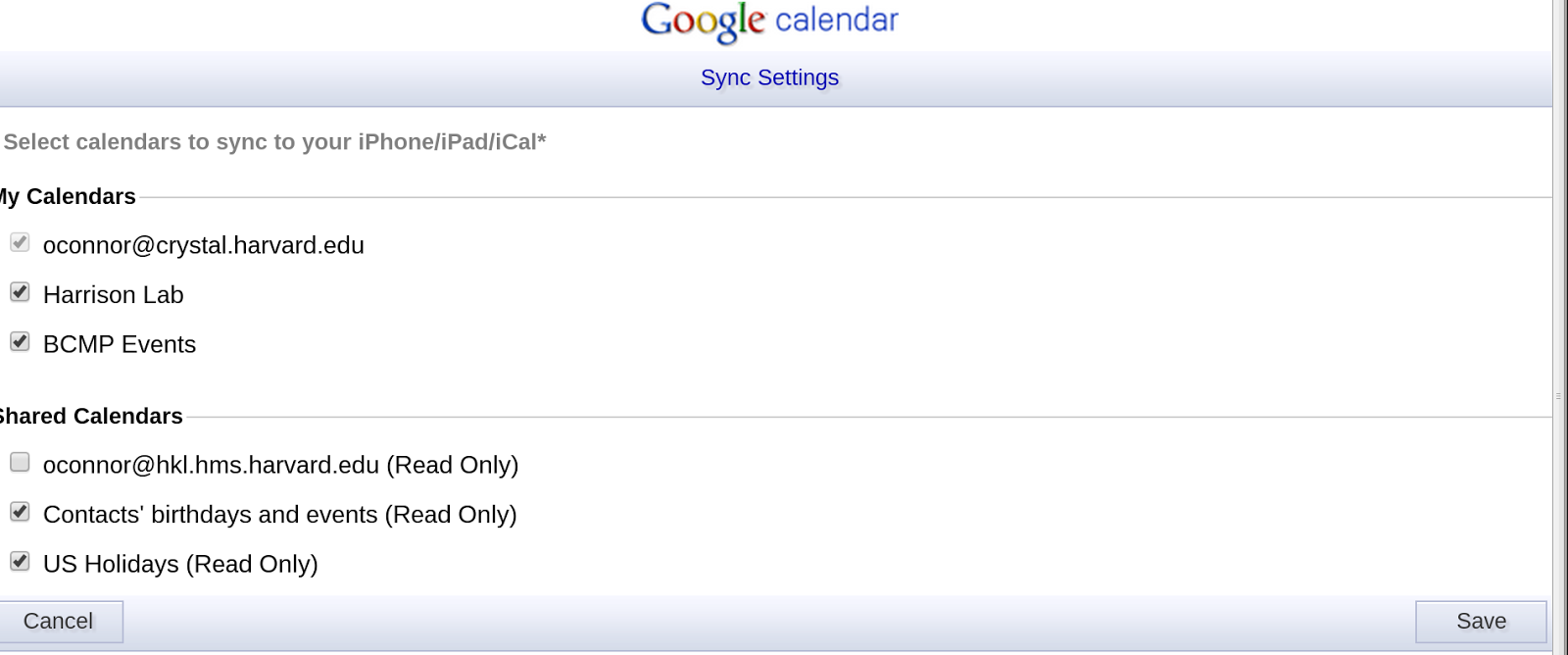 Faq Using Hkl Google Apps